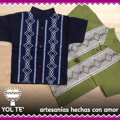 camisaguayaberaniño_artesaniasdechiapas